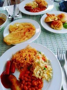 Turi Beach Resort Breakfast